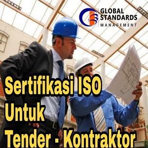 Sertifikasi ISO kontraktor Tender