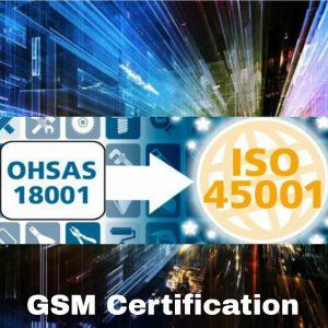 Sertifikasi ISO 45001 transisi