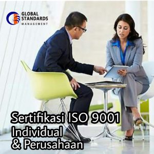Sertifikasi ISo 9001 individu