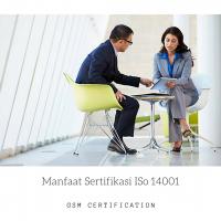 Manfaat Sertifikasi ISo 14001