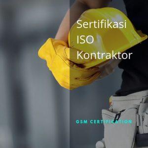 Sertifikasi ISO Kontraktor 1